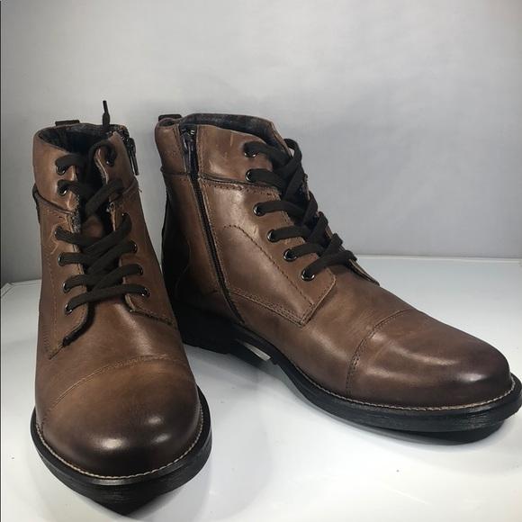 63 Alfani Mens Jack Cap Toe Boots